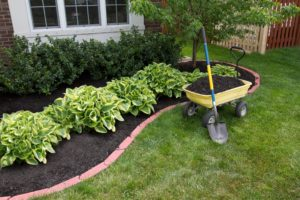 lake lure landscaping, lake lure mulch
